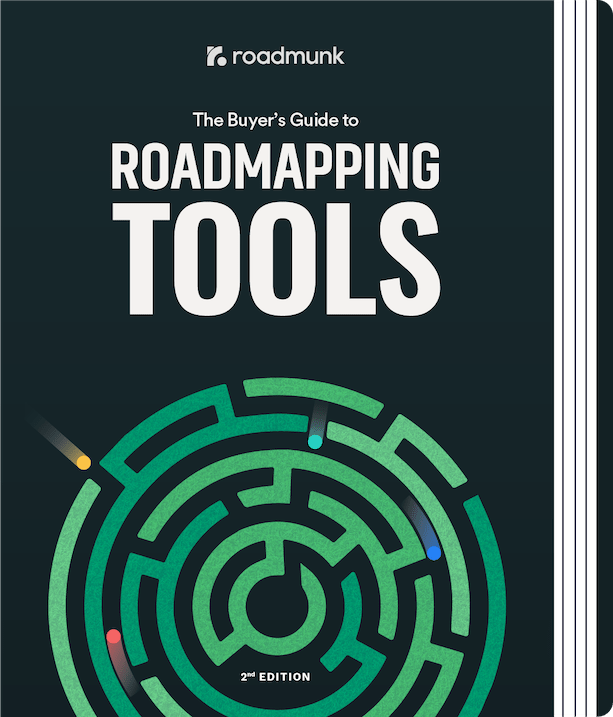 book cover of the PM's guide to roadmapping tools