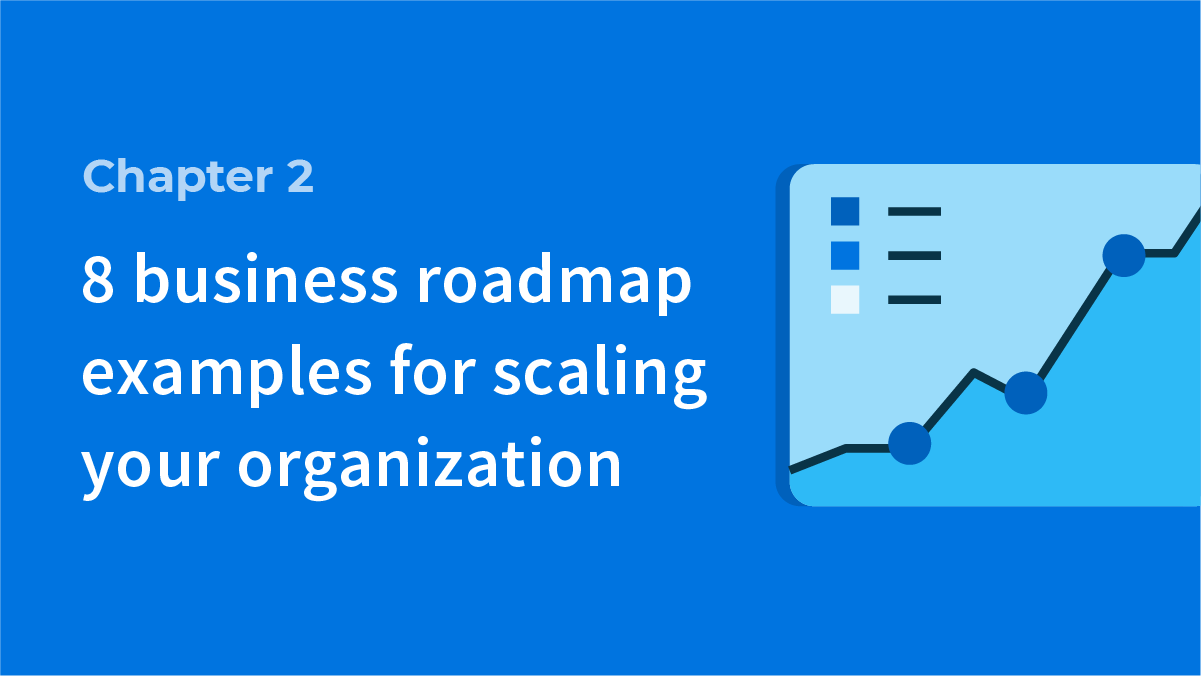 8 business roadmap examples for scaling your organization
