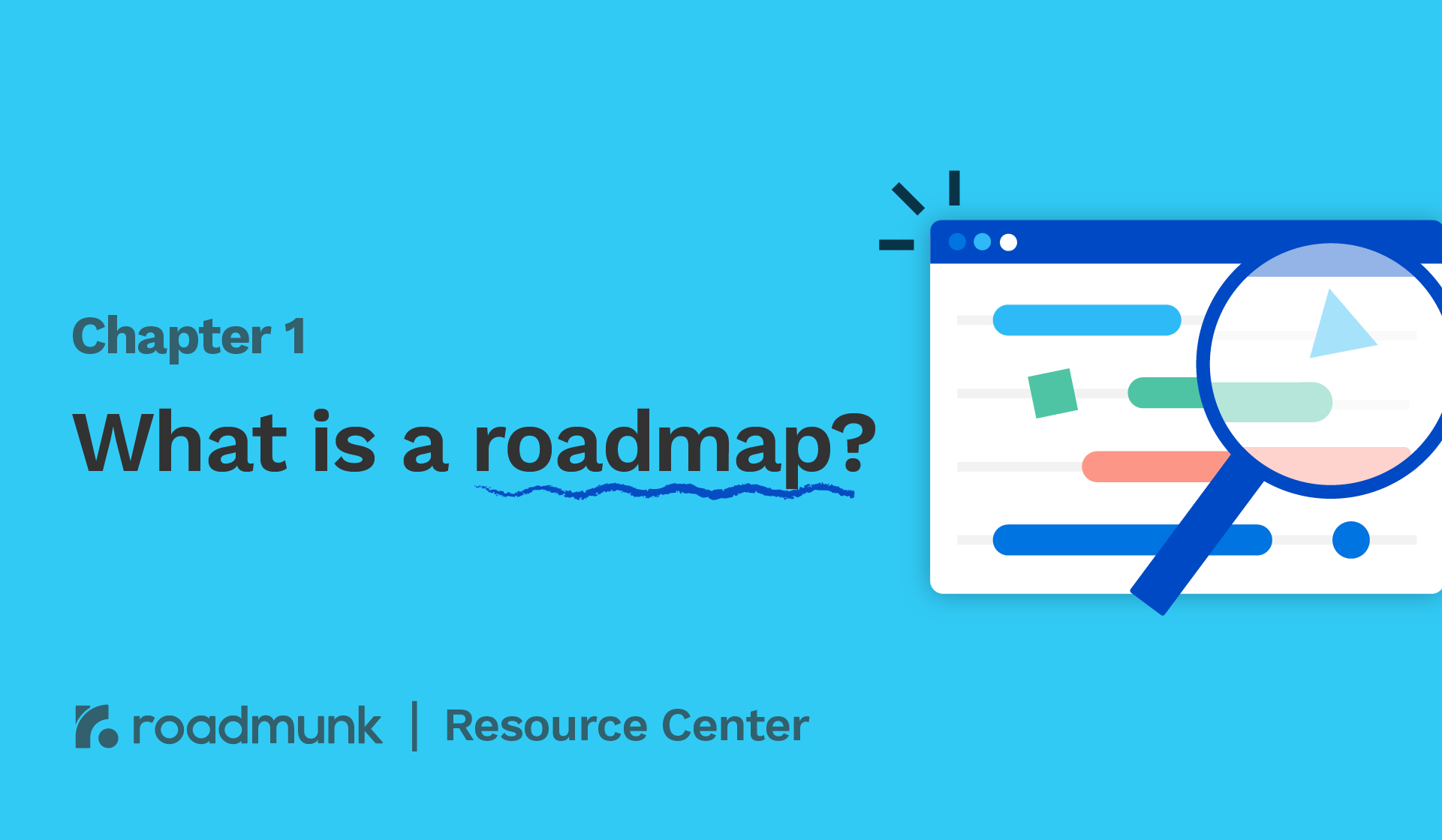 Understand the different Types of Roadmaps