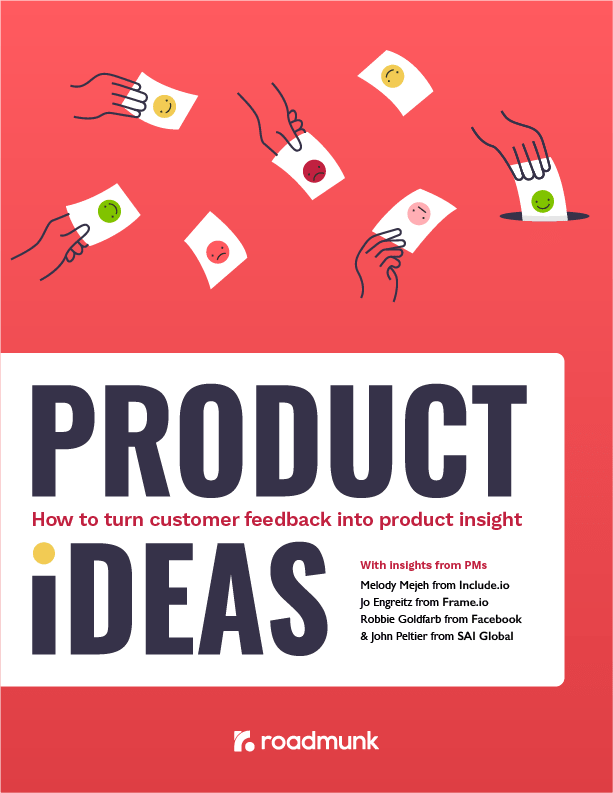 Customer Feedback Product Ideas ebook cover