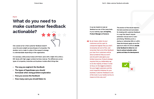 Chapter three: What do you need to make customer feedback actionable?