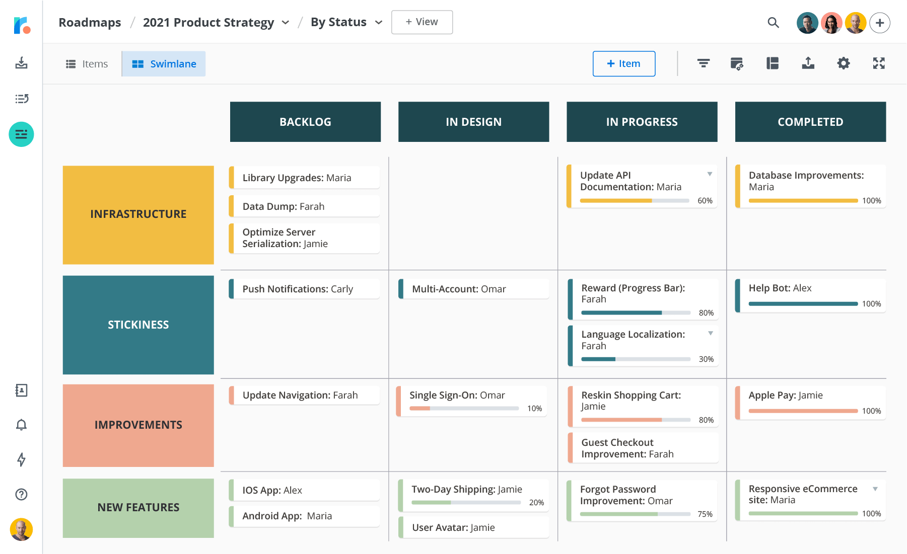 Roadmunk Product Roadmap Software & Roadmap Tool