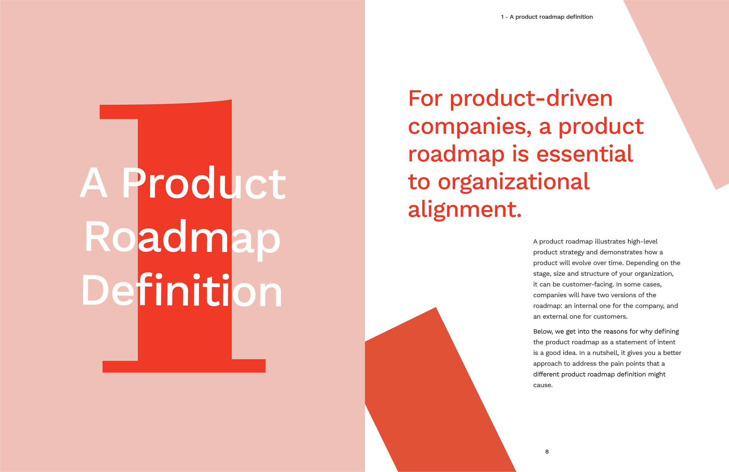 Chapter one: a product roadmap definition