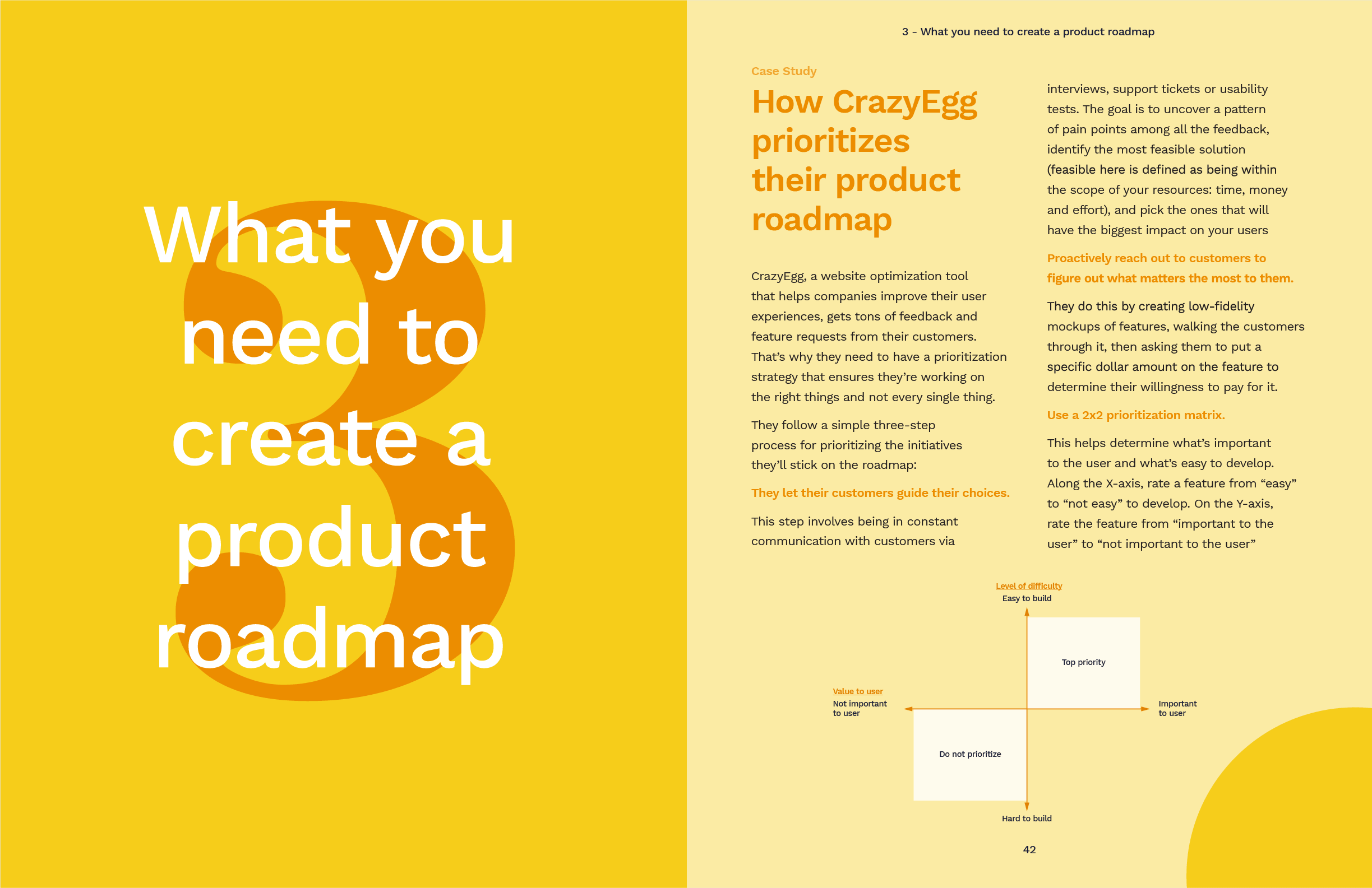 Chapter three: what you need to create a product roadmap